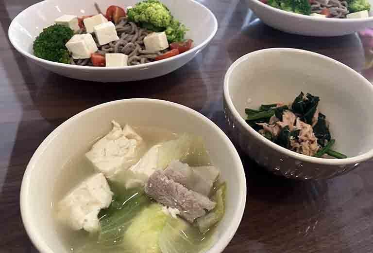 健康レシピ3種の写真