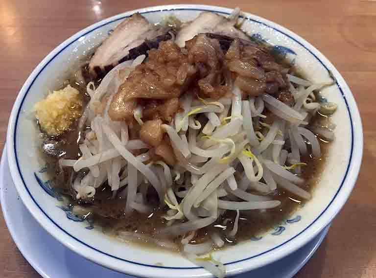 男塾塾長ラーメン豚骨醤油の写真