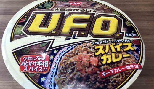 大阪スパイスカレー風味の日清カップ麺3種で買うなら『焼そばU.F.O』一択