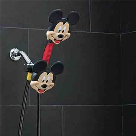 ミッキマウスのシャワーヘッド