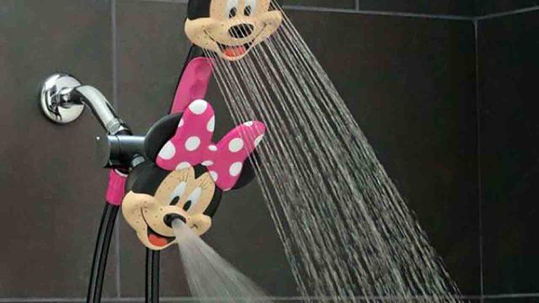 面白シャワーヘッドのミッキーマウス