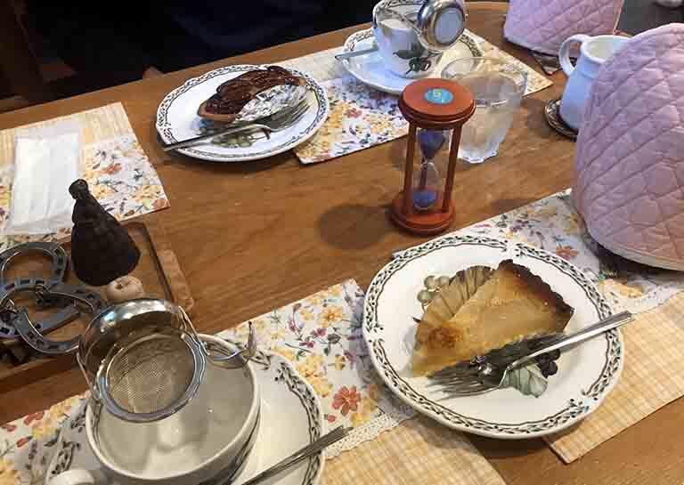 ノワのポットでの紅茶